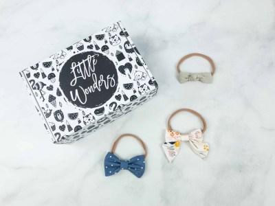 Little Wonders Co. August 2018 Subscription Box Review + Coupon