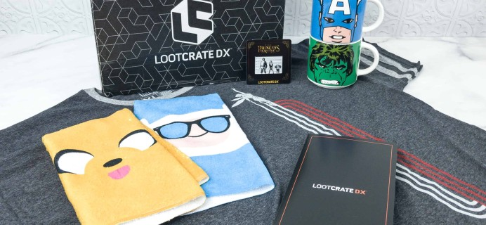 Loot Crate DX July 2018 Subscription Box Review & Coupon