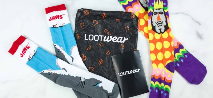 Loot Socks by Loot Crate June 2018 Subscription Box Review & Coupon
