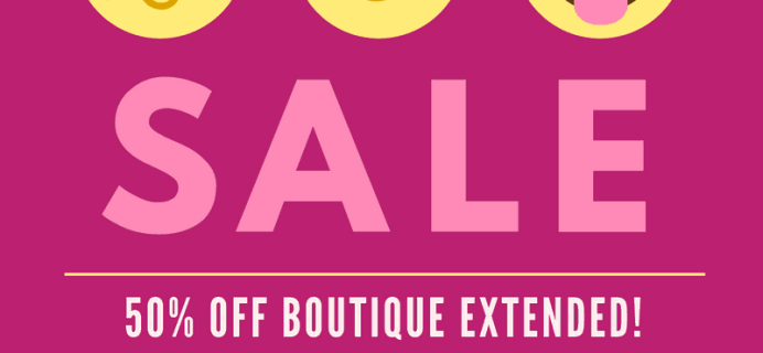 Your Bijoux Box Pre Labor Day Sale: Get 50% Off Sitewide! EXTENDED!