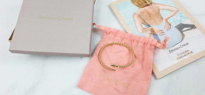 Emma & Chloe Subscription Box Review + Coupon – August 2018
