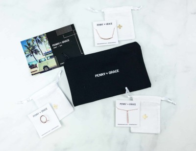 Penny + Grace August 2018 Subscription Box Review