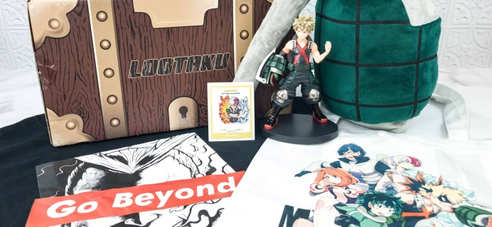 Lootaku August 2018 Subscription Box Review & Coupon