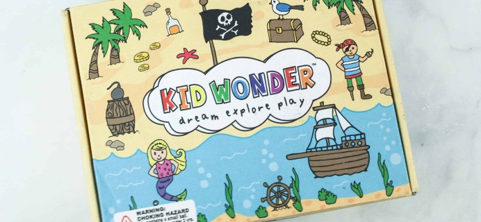 Kid Wonder Little Dreamers Box August 2018 Subscription Box Review & Coupon