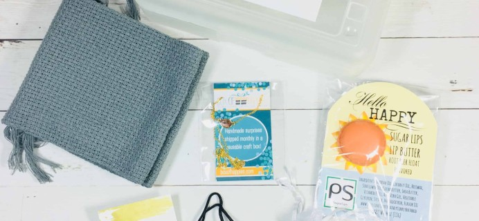 Box of Happies August 2018 Subscription Box Review + Coupon