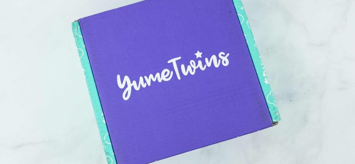 YumeTwins September 2018 Subscription Box Review + Coupon