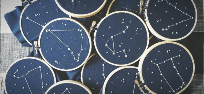 My Zodiac Box Labor Day Sale: Get FREE Constellation Hoop  Art!