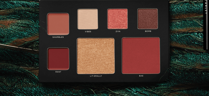 Deck of Scarlet September 2018 Palette Available Now – Full Spoilers!