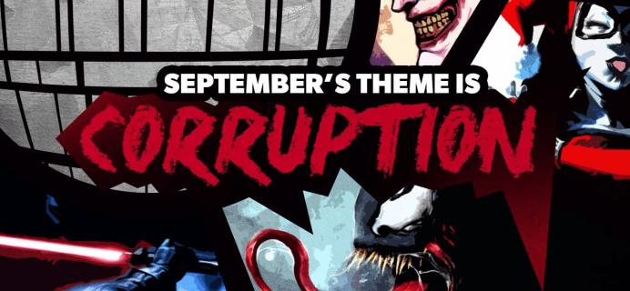 Super Geek Box September 2018 Spoilers & Coupon