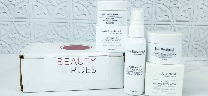 Beauty Heroes September 2018 Subscription Box Review