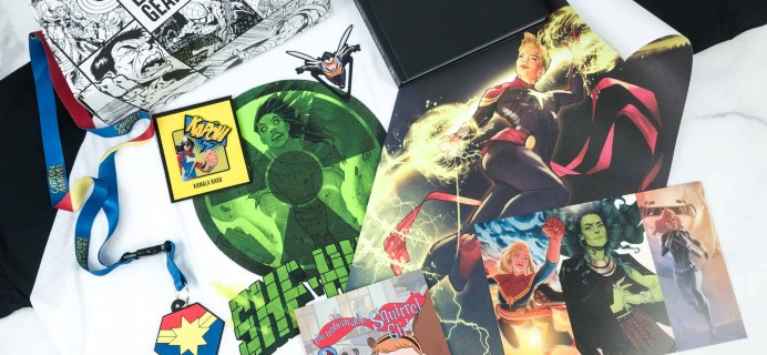 Marvel Gear + Goods July 2018 Subscription Box Review + Coupon!