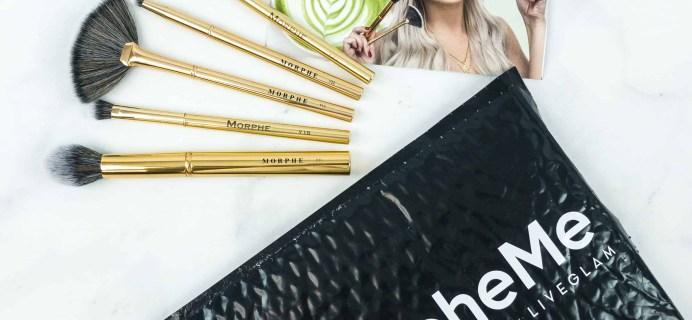 MorpheMe Brush Club September 2018 Subscription Box Review + Free Brush Coupon!