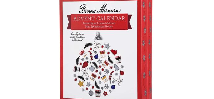 2018 Bonne Maman Advent Calendar Available Again!