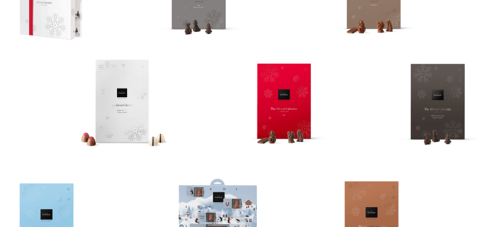 2018 Hotel Chocolat Advent Calendars Available Now!