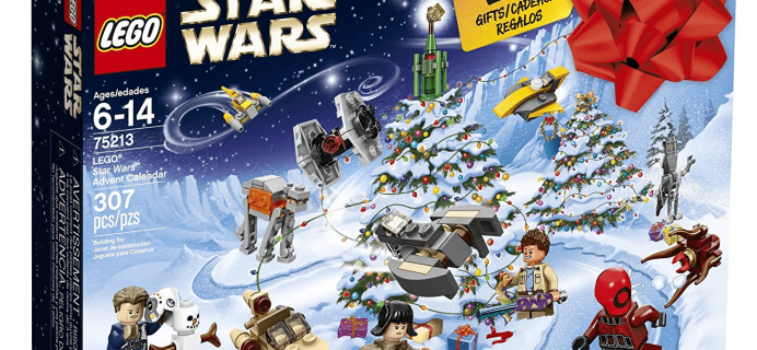 Star Wars Lego 2018 Advent Calendar Available Now!