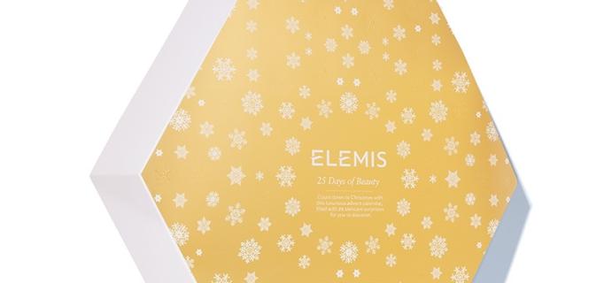 ELEMIS Advent Calendar 2018 Available Now + Full Spoilers!