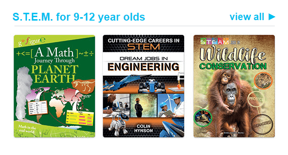Epic! Kids Books – Back To School S.T.E.M. Reading Book Collection + Free Month Coupon!