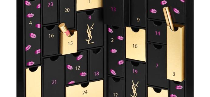 YSL Advent Calendar 2018 Coming Soon + Spoilers!
