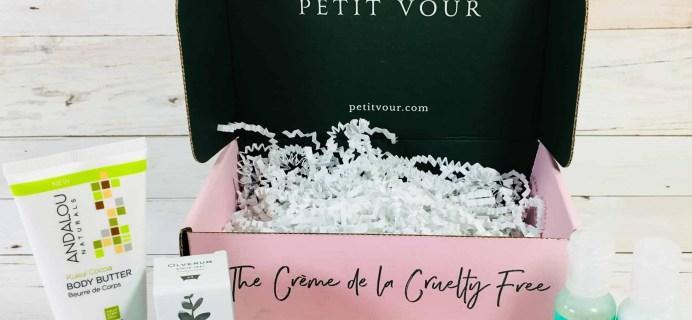 Petit Vour September 2018 Subscription Box Review