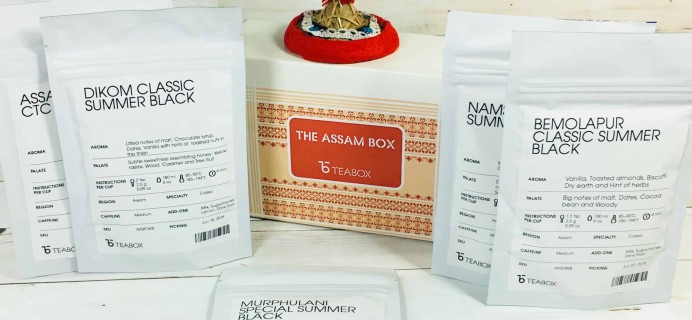 Teabox September 2018 Subscription Review & Coupon