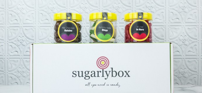 SugarlyBox September 2018 Subscription Box Review + Coupon