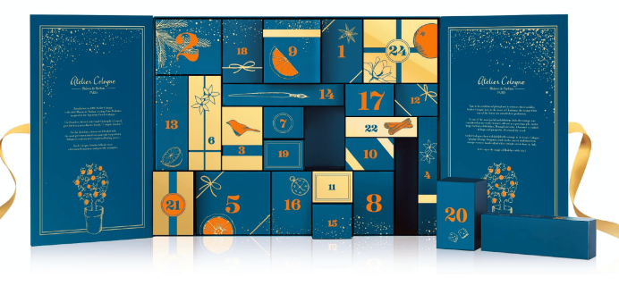 2018 Atelier Cologne Luxury Advent Calendar Available Now + Full Spoilers!