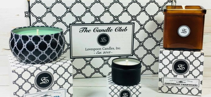 Lovespoon Candles September 2018 Subscription Box Review + Coupon