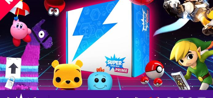 Super Geek Box Is Now Super Geek Box PRIME! Subscription Updates + Coupon!