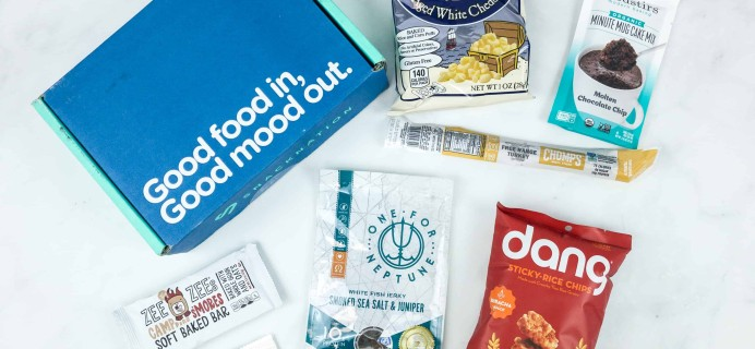 Snack Nation September 2018 Subscription Box Review + Coupon!