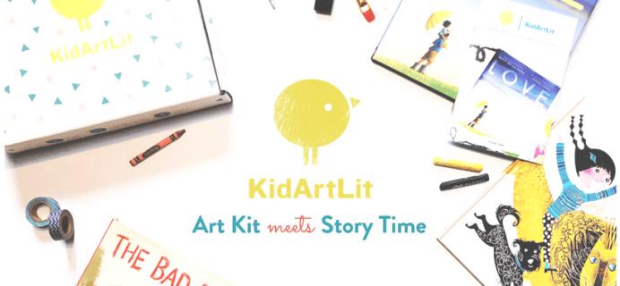 KidArtLit Spark Available Now + Coupon!