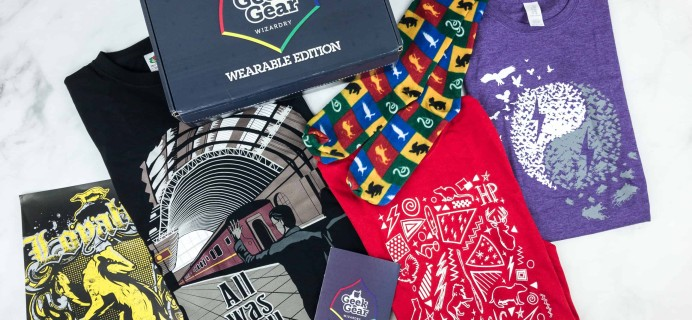 Geek Gear World of Wizardry Wearables August 2018 Subscription Box Review + Coupon