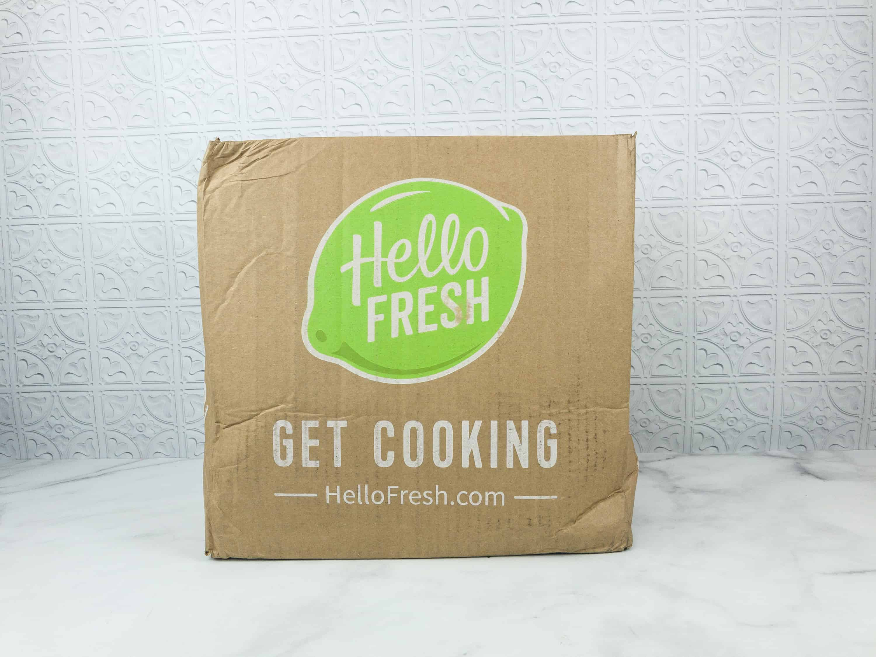 September 2018 Hello Fresh Subscription Box Review Coupon Classic Hello Subscription
