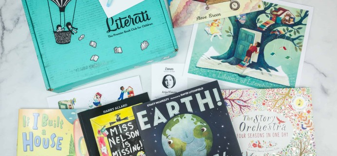 Literati Kids Club Nova Box Review + Coupon – September 2018 Welcome Box