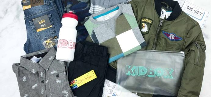 Kidbox Boys Fall 2018 Subscription Box Review + Coupon – Little Boys