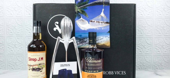 Robb Vices July 2018 Subscription Box Review + Coupon