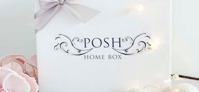 Posh Home Box Limited Edition Holiday Collections Available Now!
