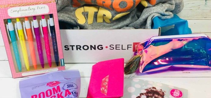 STRONG selfie Subscription Box Review – Fall 2018 BURST (box)
