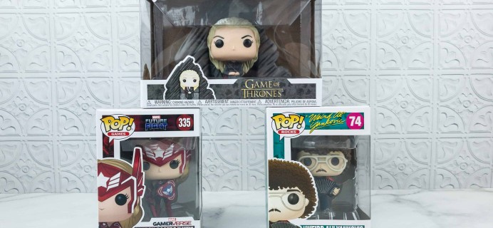 Pop In A Box September 2018 Funko Subscription Box Review & Coupon