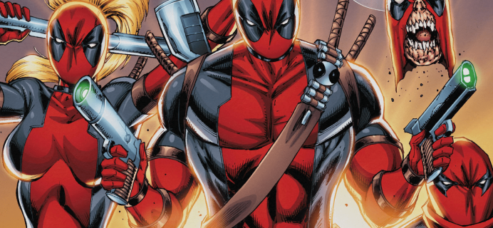 Deadpool Club Merc December Winter 2018 Full Spoilers!