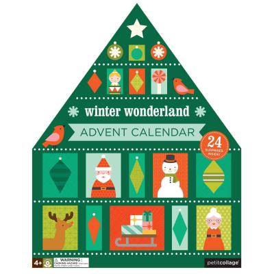 2018 Petit Collage Advent Calendar Available Now!