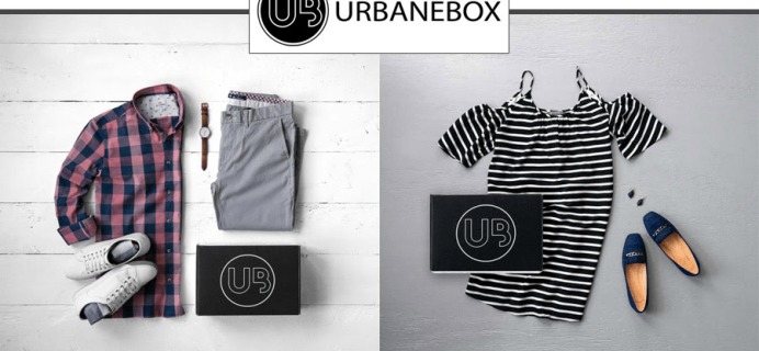 UrbaneBox Cyber Monday Sale: Get $35 Off Your First Box + FREE Shipping!