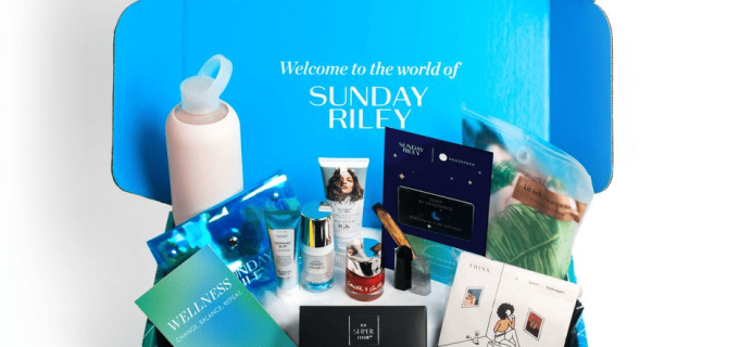 New Subscription Boxes: Sunday Riley Subscription Box + Fall 2018 FULL Spoilers + Coupon!