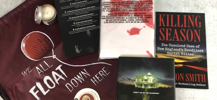 Creepy Crate August 2018 Subscription Box Review + Coupon