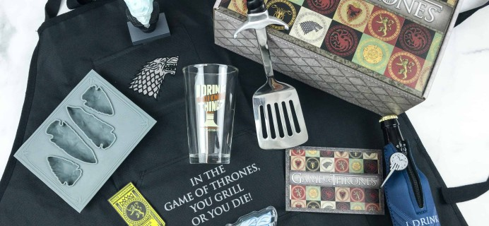 Game of Thrones Box Fall 2018 Review