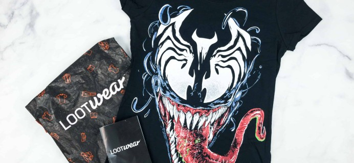 Loot Tees September 2018 Review & Coupon