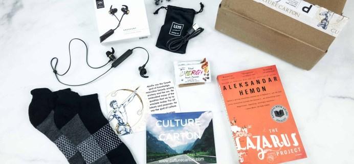 Culture Carton September 2018 Subscription Box Review + Coupon