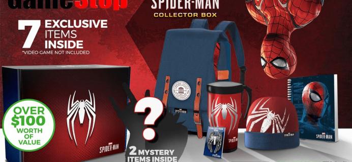 GameStop Exclusive CultureFly Marvel Spider-Man Collectors Box Full Spoilers!