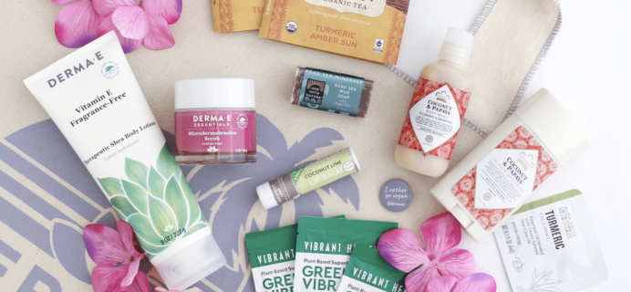 Derma-E Miss Ashley Diana's Sprouts Favorites Box Available Now!