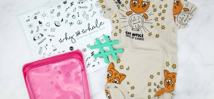 Why and Whale September 2018 Subscription Box Review + Coupon!
