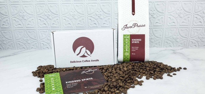 Java Presse Coffee Of The Month Club September 2018 Subscription Box Review + Coupon